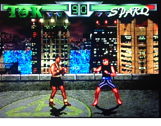 Thea Realm Fighters atari screenshot